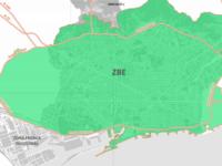 La Zona de Bajas Emisiones en Barcelona se estrena como la de mayor extensión al sur de Europa