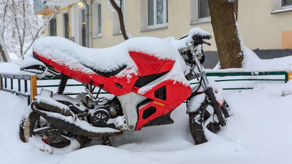 Objetivo: no pasar frío en moto