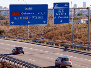 carretera-M-40-Madrid-km-46
